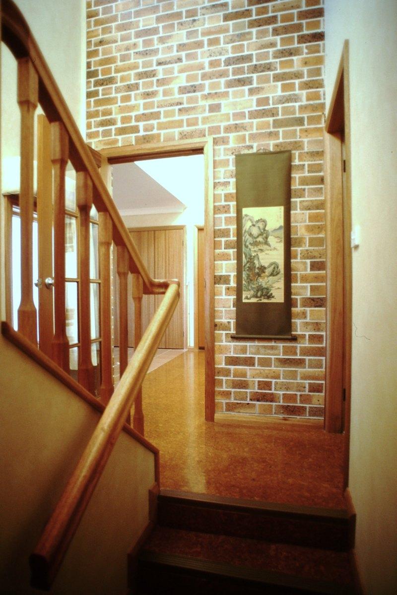 Stairwell, view NE