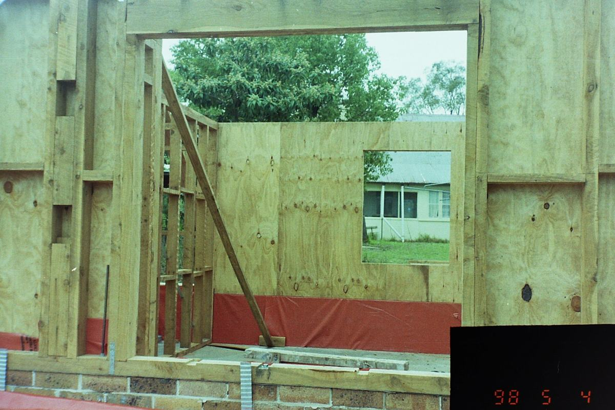 Wall frames downstairs