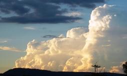 Cumulus congestus at 130 km